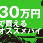 総額30万円で買えるオススメの中古バイク